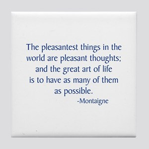 Montaigne Tile Coaster