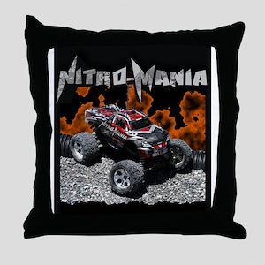 Nitro-Mania.com Throw Pillow