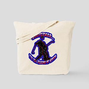 Puck Drop Tote Bag