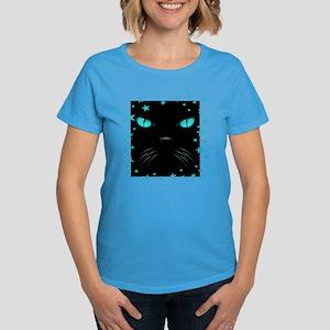 Boo - Aquamarine Women's Dark T-Shirt