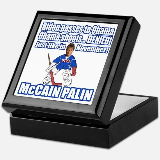 McCain Palin Denied Keepsake Box