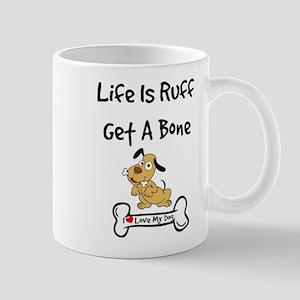 With Bone Print 1 Side Mugs