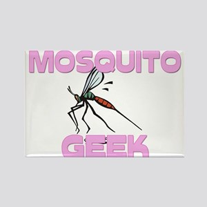 Mosquito Geek Rectangle Magnet