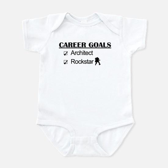 Architect Career Goals Rockstar Infant Bodysuit