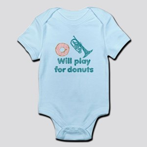 Will Play Mello for Donuts Infant Bodysuit