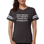 Obama's Participation Trophy Womens Football Shirt