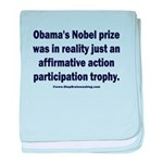 Obama's Participation Trophy baby blanket