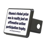 Obama's Participation Trop Rectangular Hitch Cover