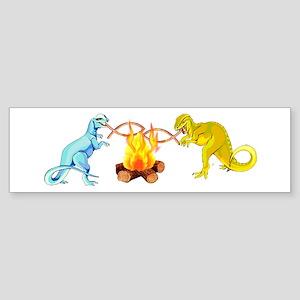 Atheist Dinosaurs Bumper Sticker