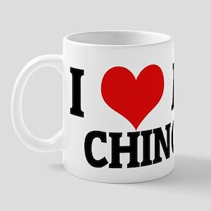 I Love My Chinook Mug