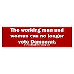 No more Democrat Sticker (Bumper)
