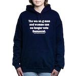 No more Democrat Women's Hooded Sweatshirt