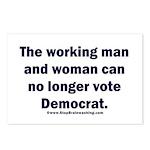 No more Democrat Postcards (Package of 8)