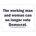 No more Democrat Small Poster