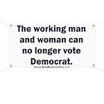 No more Democrat Banner