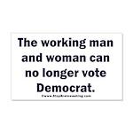No more Democrat 20x12 Wall Decal