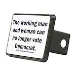 No more Democrat Rectangular Hitch Cover