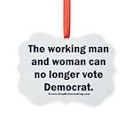 No more Democrat Picture Ornament