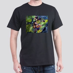 grapevine grapes fruit still Dark T-Shirt