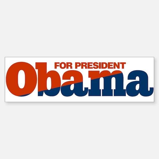 Obama Bumper Bumper Bumper Sticker