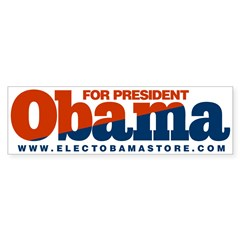 Obama Sticker 07 (Bumper)