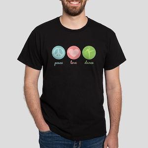 Peace, Love & Dance Dark T-Shirt