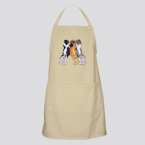 3N MtMtMrlF Leaners BBQ Apron