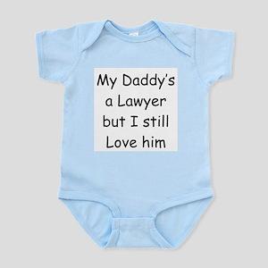 Daddy's a Lawyer Infant Bodysuit