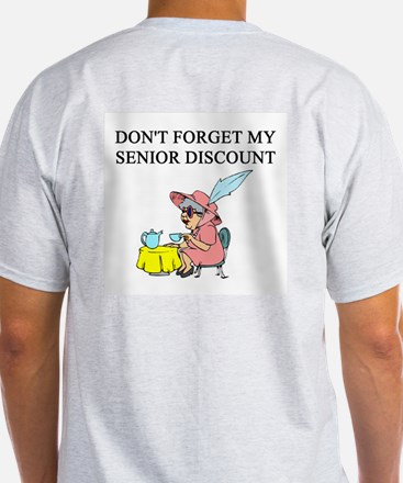 retiree senior citizen T-Shirt