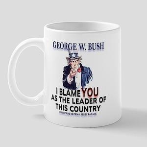 Hurricane Katrina - Bush Mug