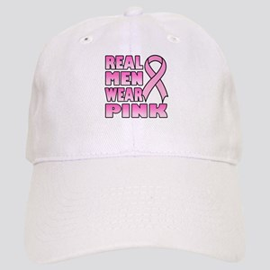 Real Men Wear Pink Cap
