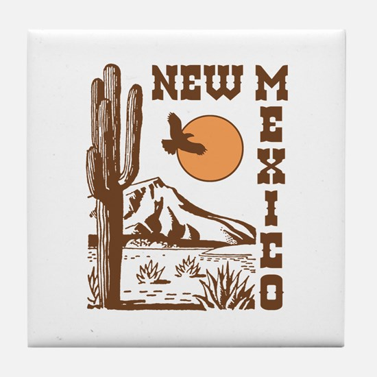 New Mexico Tile Coaster