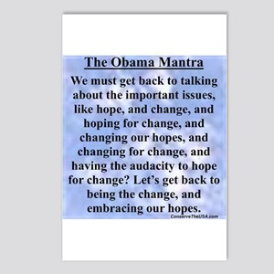 """Obama's Mantra"" Postcards (Package of 8"