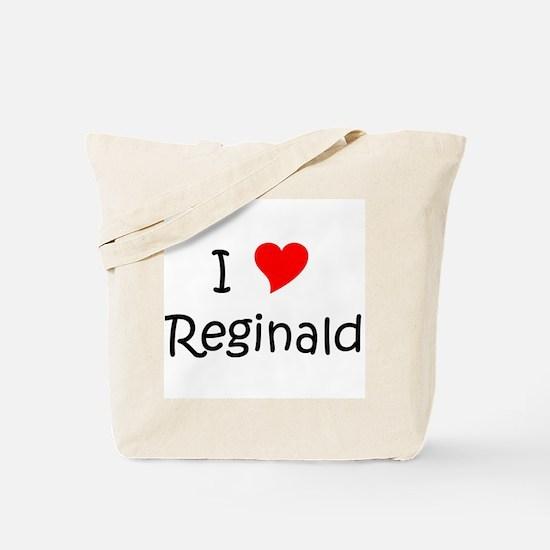 Unique Reginald Tote Bag