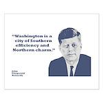 Kennedy - Washington Small Poster