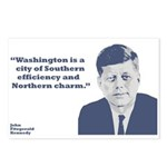 Kennedy - Washington Postcards (Package of 8)