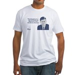Kennedy - Washington Fitted T-Shirt