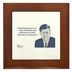Kennedy - Washington Framed Tile