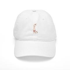 Borzoi Princess Gold/Tan Baseball Baseball Cap