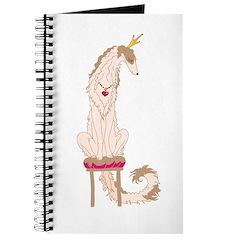 Borzoi Princess Gold/Tan Journal