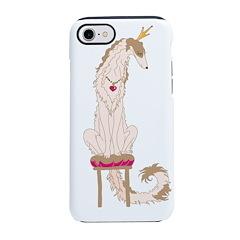 Borzoi Princess Gold/Tan iPhone 8/7 Tough Case