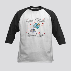 Special Needs...Special Love Kids Baseball Jersey