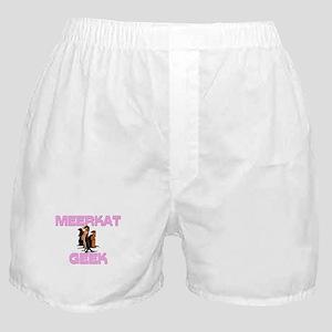 Meerkat Geek Boxer Shorts