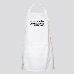 Somebody in Connecticut Loves Me BBQ Apron