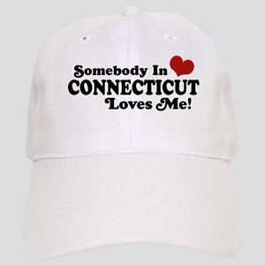 Somebody in Connecticut Loves Me Cap