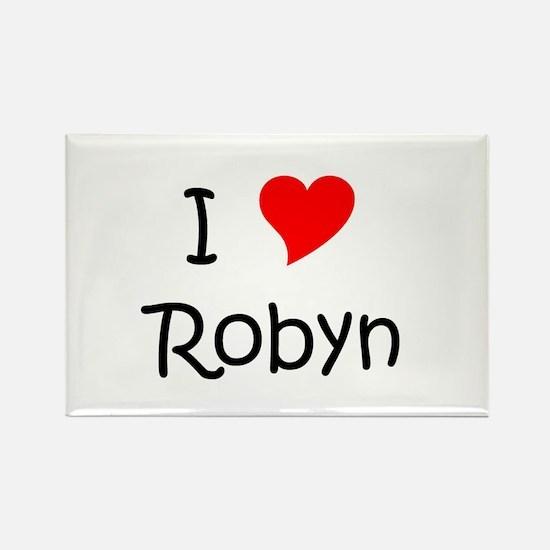 Unique Robyn Rectangle Magnet