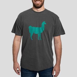Llama Lama Alpaca Shilhouette T-Shirt
