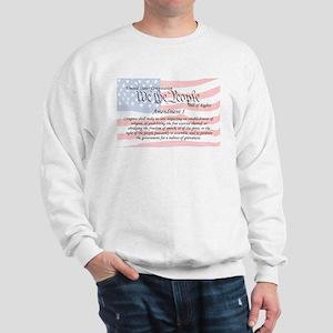 Amendment I and Flag Sweatshirt