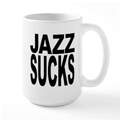 Jazz Sucks Large Mug