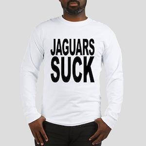 Jaguars Suck Long Sleeve T-Shirt